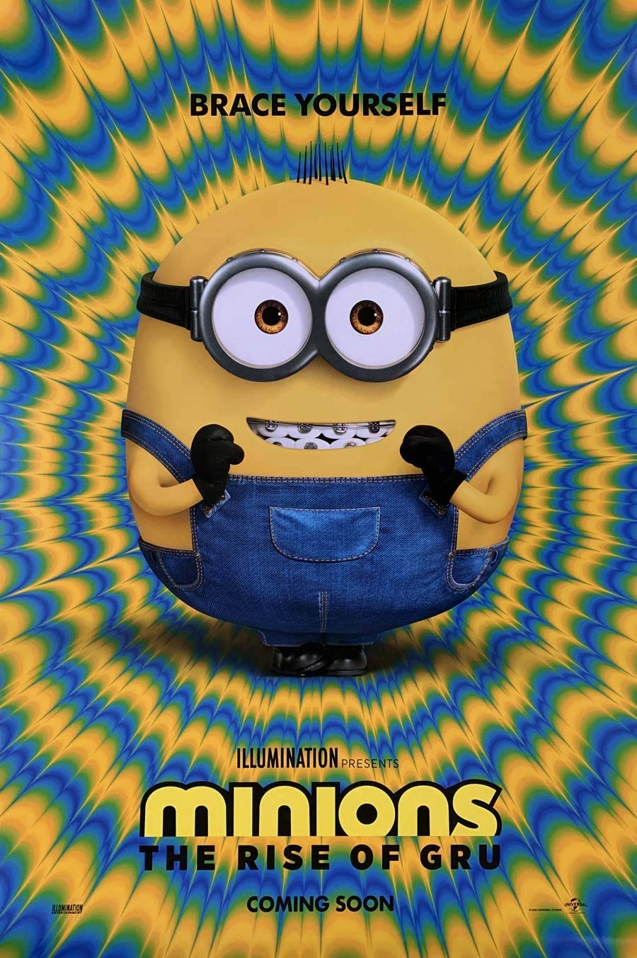 Minions 2022 The rise of gru Poster